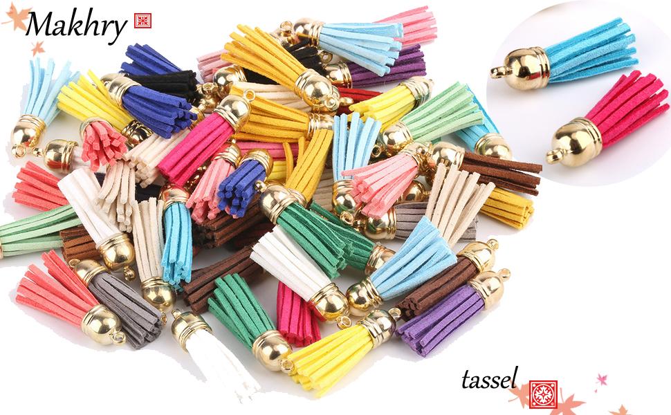50 Pieces,Suede TASSEL,Yellow Tassel,tassels for keychains,Faux Leather Tassels,large fringe tassels,DIY tassels,tassel charms,Wholesale.