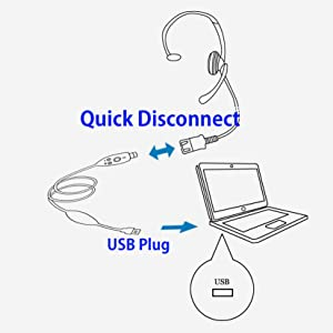 Quick Disconnect Headset
