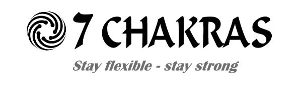 7 Chakras Yoga Wheel/Yoga Strap Set | Travel Bag | Exercise Stretching Guide (Printed Or PDF) | Yoga Equipment Sets