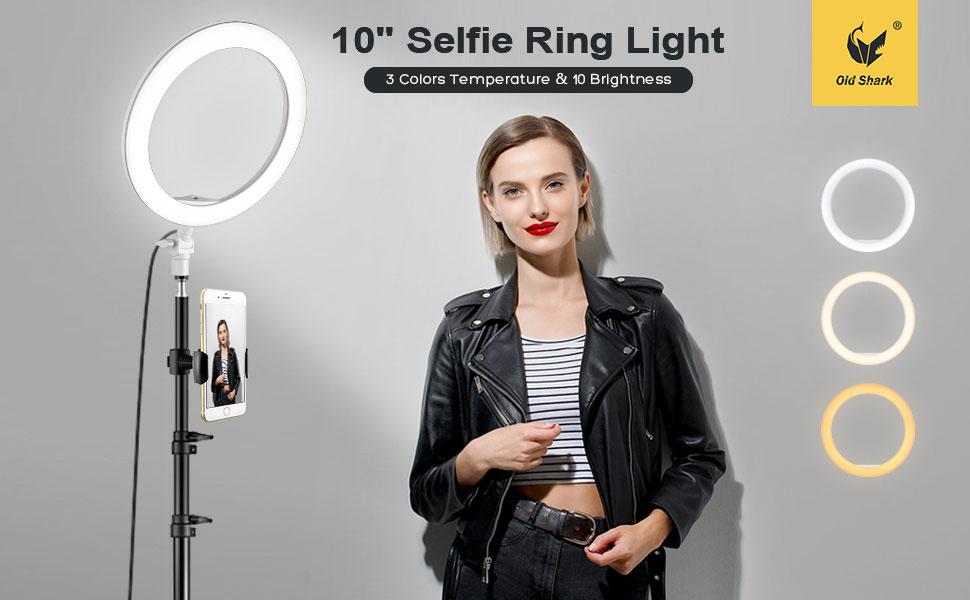 Oldshark ring light