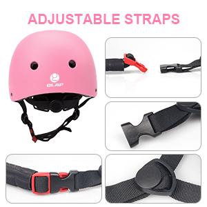 kids bike helmet with Adjustable strap