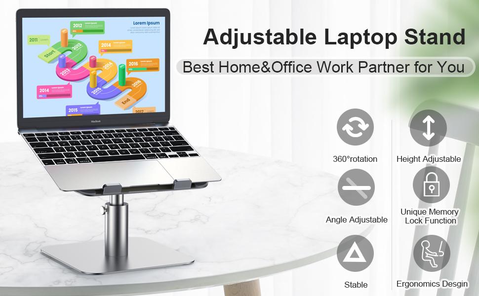 Adjustable Laptop Stand Laptop Stand Laptop Holder computer stand Laptop Riser