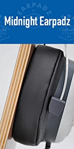 Beyerdynamic DT770 Pro with Midnight Earpadz on headphone stand