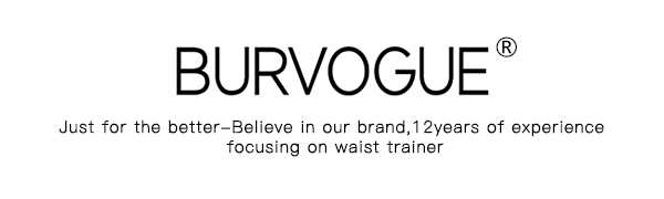 burvogue waist trainer for weight loss