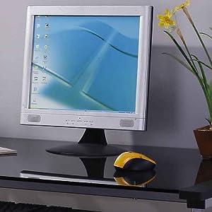wide glass desktop