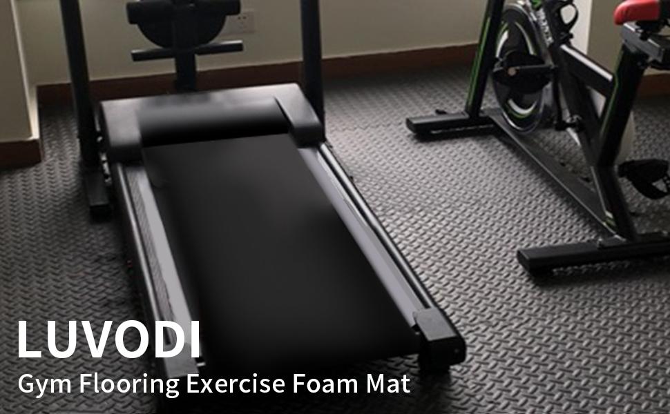 luvodi yoga gym exercise sports training mat