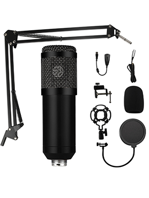 Condenser Microphone Bundle Kit