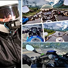 Motorcycle Helmet Chin Mount