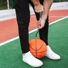ball pump for basketball soccer volleyball ball inflator pump with needle soccer ball pump