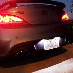 OE-Fit 18 SMD LED License Plate Lights For Hyundai Sonata Elantra Veloster Kia