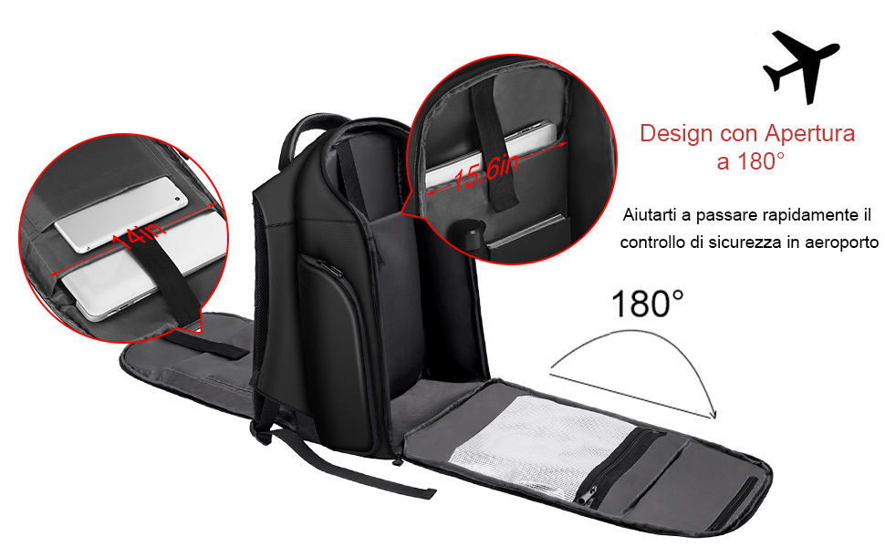 Xnuoyo 15.6 in laptop backpack