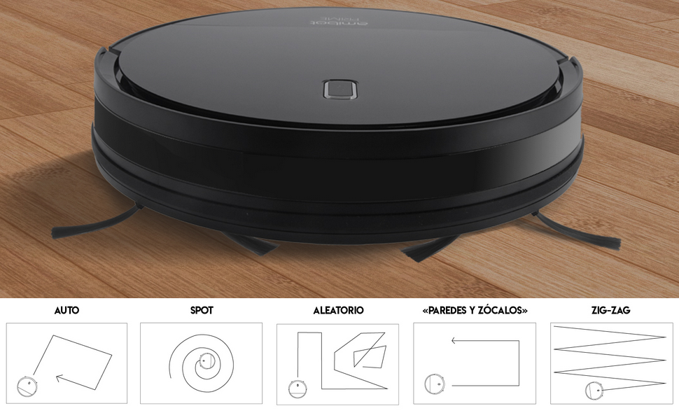 AMIBOT Prime 2 H2O – Robot Aspirador y friegasuelos: Amazon.es: Hogar
