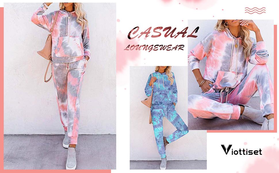 casual loungewear outfit set pajamas