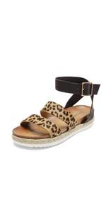 women platform sandals espadrilles flatform elastic strap summer