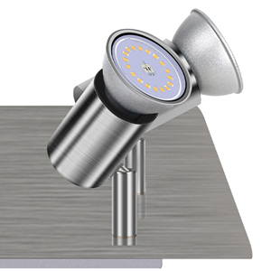 stainless steel look spotlight