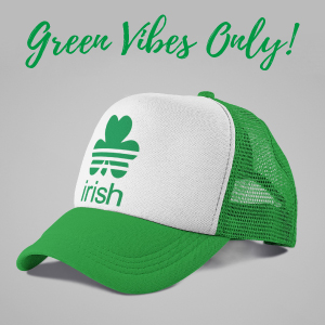 PADDY/'S Day Lucky AF St Patricks Day Drinking Hats Perfect way to show your Irish side this ST