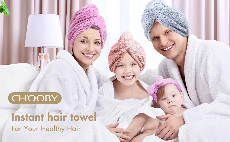 Dry Hair Towel