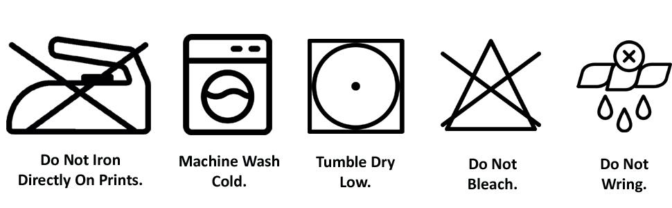 Wash Instruction