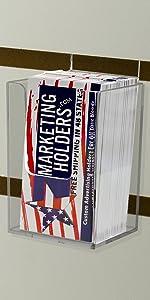 Marketing Holders Vertical Business Card Holder