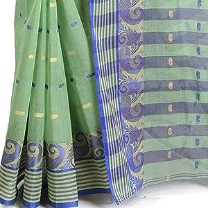 silk border cotton saree
