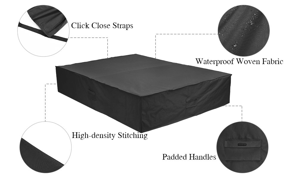 Patio furniture cover waterproof