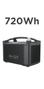 RIVER Pro専用エクストラバッテリー