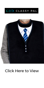 adult bib clothing protector tie and sweater