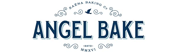 Saena Baking Co Angel Bake Logo