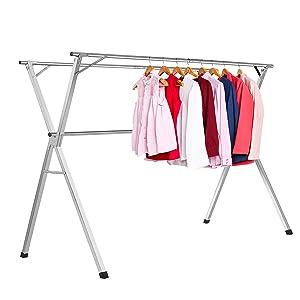 L/ínea de ropa retr/áctil de acero inoxidable 304 Tendedero para hogar secadora lavander/ía al aire libre o interior tendedero individual Inicio montado en la pared ajustable con l/ínea de nylon trenzada