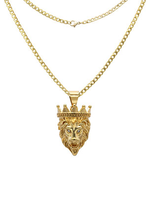 lion pendant set