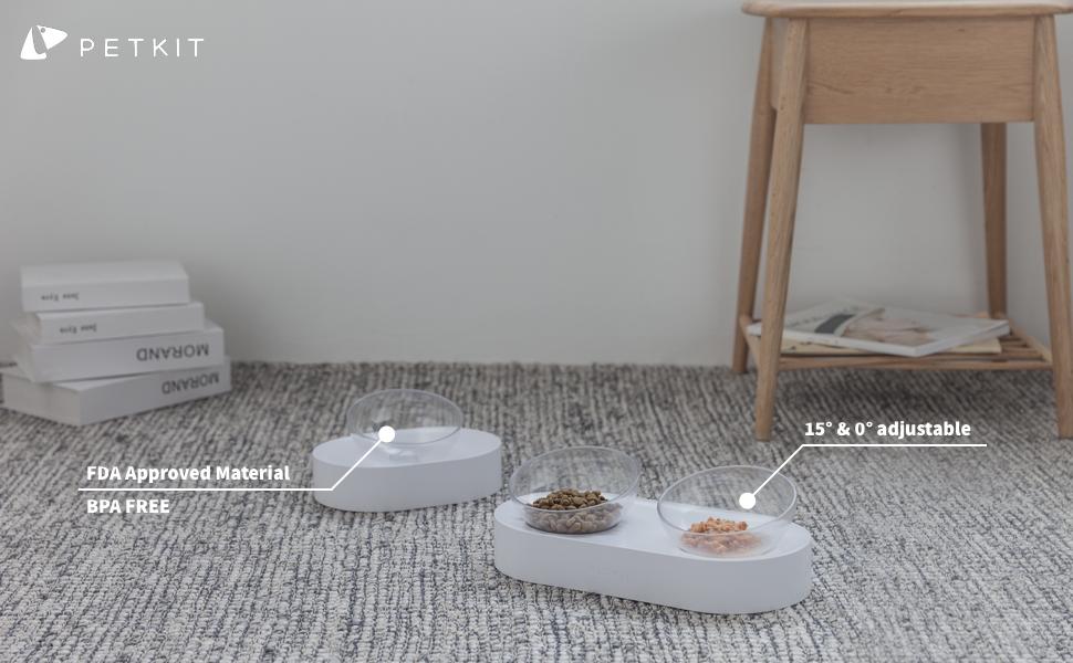PETKIT cat feeding bowls
