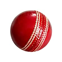 AnNafi Leather redCricket Ball A Grade Handstitched White
