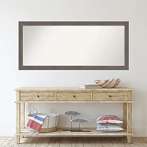 framed door mirrors