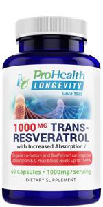 ProHealth Trans Resveratrol