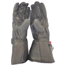 Blok-IT Full Leather Motorcycle Gloves Ultra Durable Thermal 3M Thinsulate Gloves. for Men /& Women Windproof /& Waterproof Biker Gloves Double Stitching Motorbike Gloves