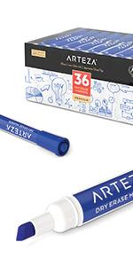 Dry-Erase-Markers-Chisel-Tip-in-Blue---Set-of-36