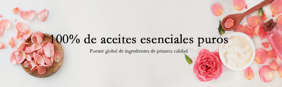 100% de aceites esenciales puros