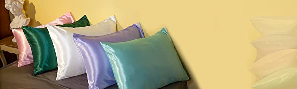HandSun satin pillowcase
