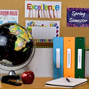Carstens ring binders, ring binders, school supplies