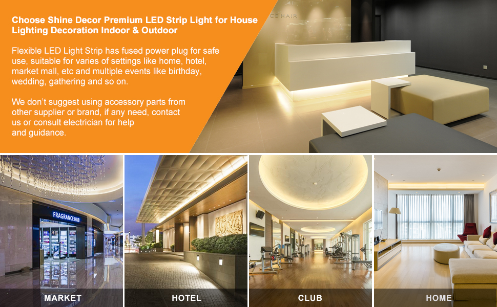 Shine Decor LED Strip Light