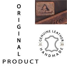 PICCO MASSIMO Genuine Leather
