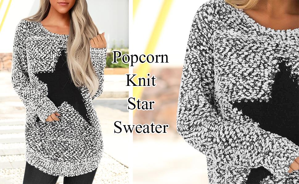 women knit sweater