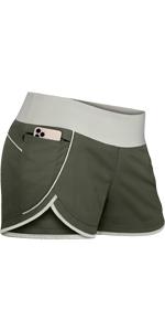 Running Shorts Invisible Zipper Pockets