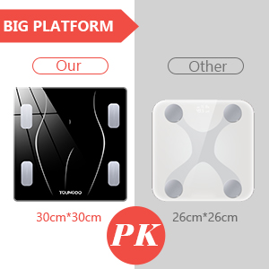 body fat scale Bluetooth scales for body weight body fat watcher scales rechargeable bathroom