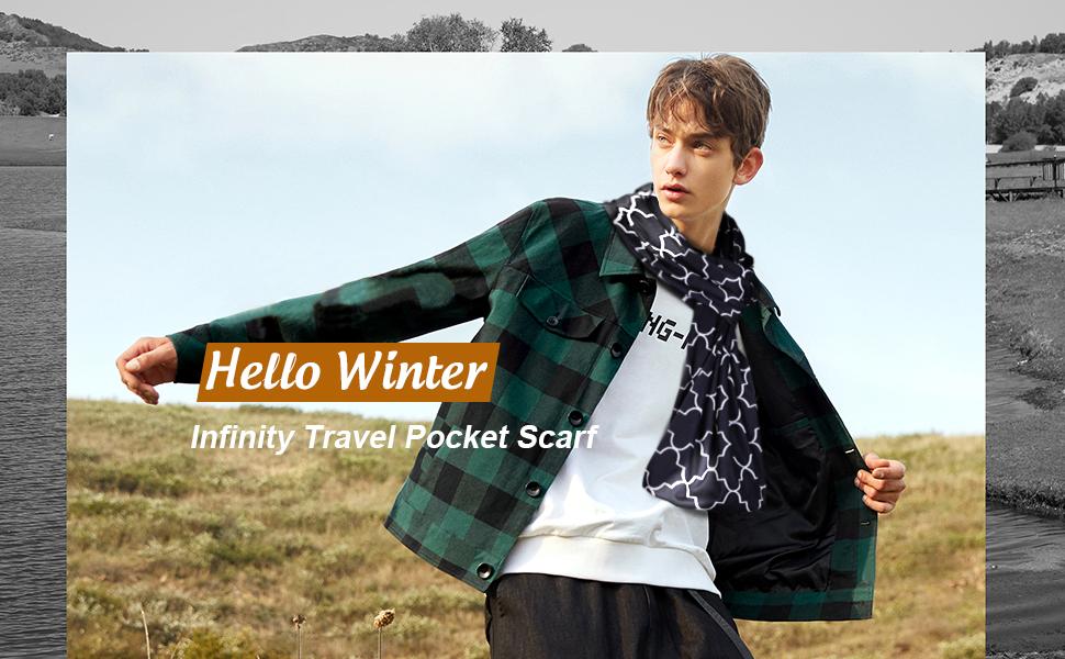 women infinity scarf