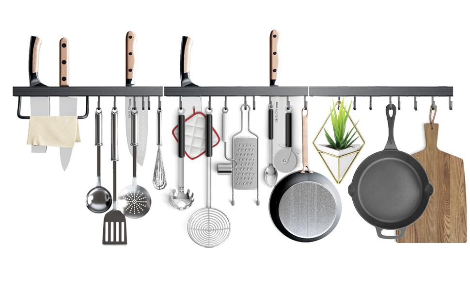 pot racks for kitchen wall mounted pots and pans hanging rack pan hanger pot hooks wall pot rack