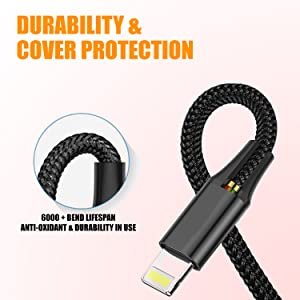 charging cable, braided charging cable