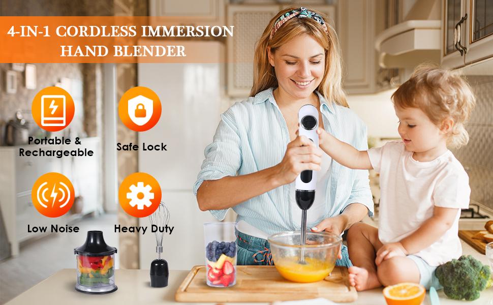 Cordless Immersion Hand Blender