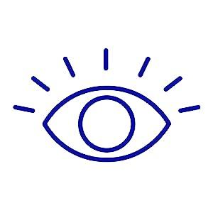 Reduced Eye Strain and Eye Fatigue