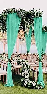 Sheer Curtains 2 Panels